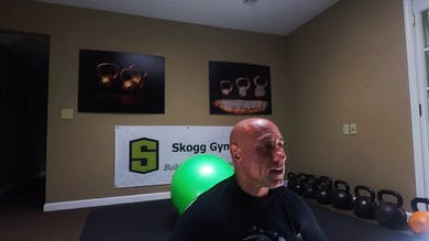 Core. Moderate Intensity. Body Weight. Physio Ball. by Skogg Gym