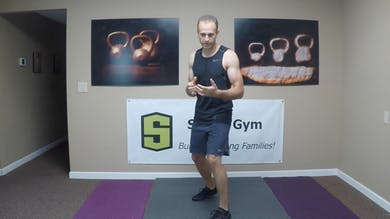 Kickboxing 2. Instruction on proper form and technique for kicks. Legs, core, beginner, high intensity, conditioning. by Skogg Gym