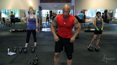 Full Body. High Intensity Strength. Double KB. by Skogg Gym