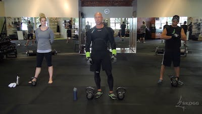 Legs. High Intensity Conditioning. Double KB. by Skogg Gym