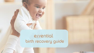 Essential Birth Recovery Guide by mamalates