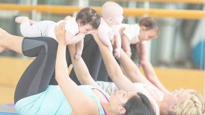 mamalates: essential birth recovery workout with baby by mamalates