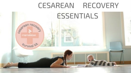 Cesarean Survival Essentials by mamalates, powered by Intelivideo