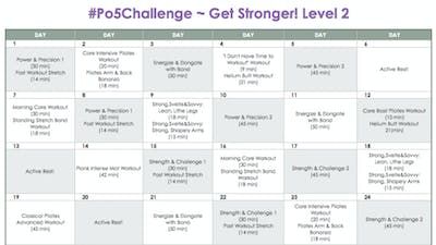 Level 2 Stronger - #Po5Challenge by Pilates on Fifth