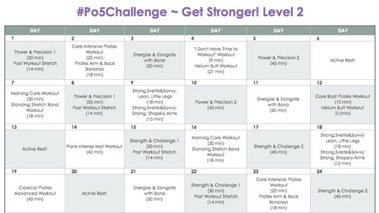 Instant Access to Level 2 Stronger - #Po5Challenge by Pilates on Fifth, powered by Intelivideo