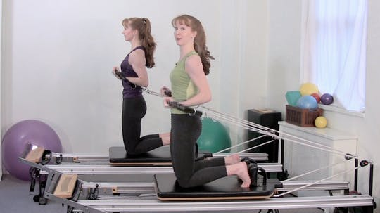 Instant Access to Fitness and Cross Training Workout on the Reformer by Pilates on Fifth, powered by Intelivideo