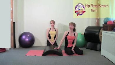 Hip Flexor Stretch by Pilates on Fifth