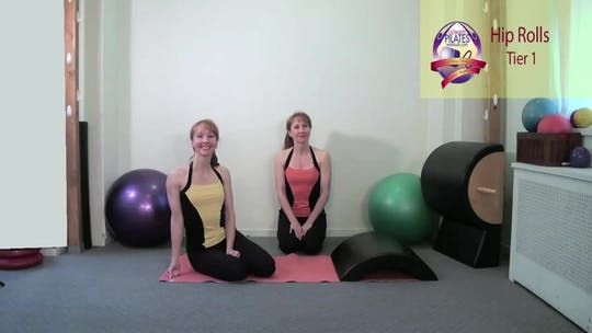 Instant Access to Hip Rolls by Pilates on Fifth, powered by Intelivideo