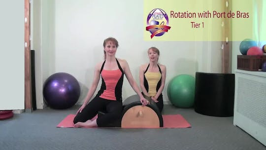 Instant Access to Rotation with Port de Bras by Pilates on Fifth, powered by Intelivideo
