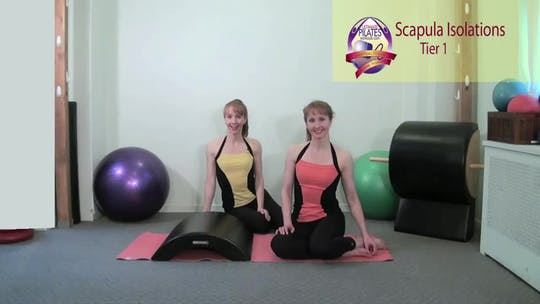 Instant Access to Scapula Isolations by Pilates on Fifth, powered by Intelivideo