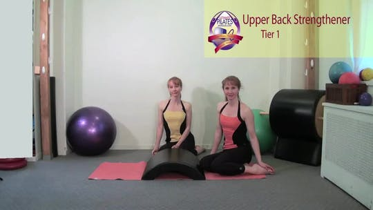Instant Access to Upper Back Strengthener by Pilates on Fifth, powered by Intelivideo