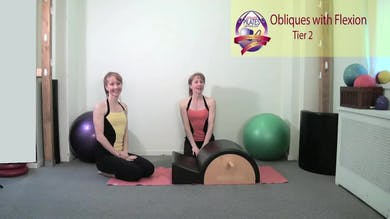 Obliques with Flexion on the Spine Corrector by Pilates on Fifth