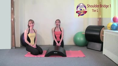 Shoulder Bridge 1 by Pilates on Fifth