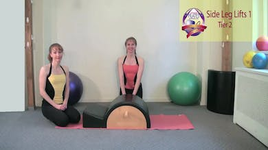 Side Leg Lift Series 1 by Pilates on Fifth