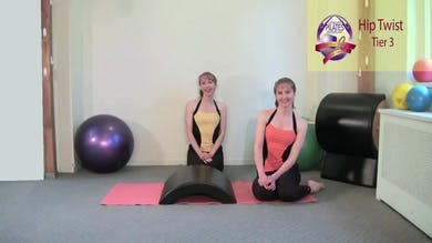 Hip Twist by Pilates on Fifth