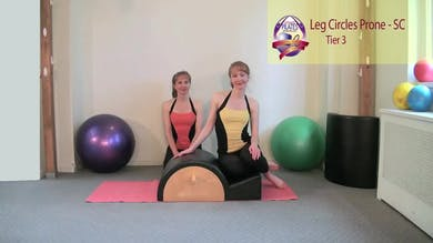 Leg Circles Prone on the Spine Corrector by Pilates on Fifth
