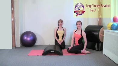 Leg Circles Seated by Pilates on Fifth