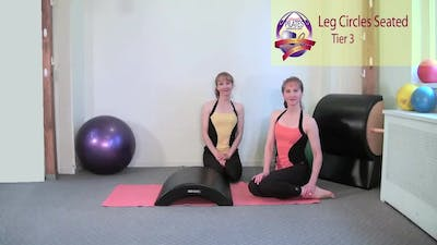 Instant Access to Leg Circles Seated by Pilates on Fifth, powered by Intelivideo