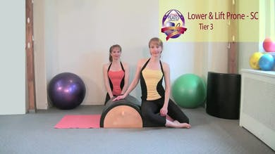 Lower and Lift Prone on the Spine Corrector by Pilates on Fifth