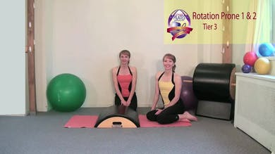 Rotation Prone 1 and 2 by Pilates on Fifth