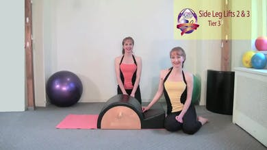 Side Leg Lift Series 2 and 3 by Pilates on Fifth