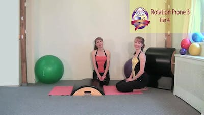 Instant Access to Rotation Prone 3 by Pilates on Fifth, powered by Intelivideo