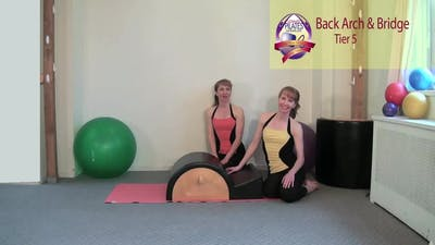 Instant Access to Back Arch and Bridge by Pilates on Fifth, powered by Intelivideo