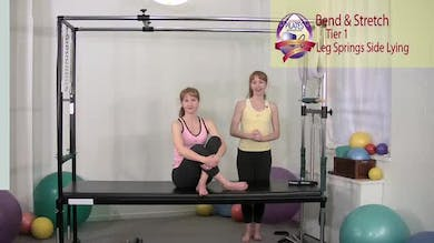 Bend and Stretch Side Lying by Pilates on Fifth