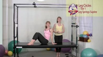 Leg Circles 1 2 3 by Pilates on Fifth