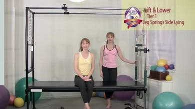 Lift and Lower Side Lying by Pilates on Fifth