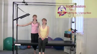 Scapula Isolations 1 by Pilates on Fifth