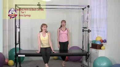 Seated Arm and Back Series 1 by Pilates on Fifth