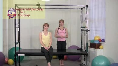 Seated Arm and Chest Series by Pilates on Fifth