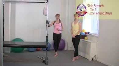 Side Stretch with Fuzzies by Pilates on Fifth