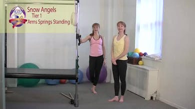 Snow Angels by Pilates on Fifth