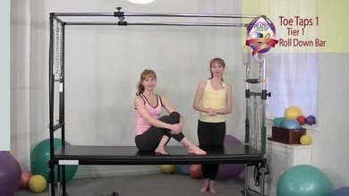 Toe Taps 1 by Pilates on Fifth