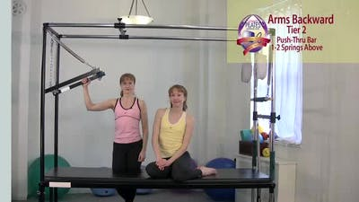 Instant Access to Arms Backwards by Pilates on Fifth, powered by Intelivideo