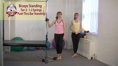 Instant Access to Biceps Curls Standing by Pilates on Fifth, powered by Intelivideo