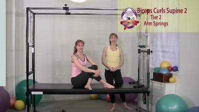Instant Access to Biceps Curls Supine 2 by Pilates on Fifth, powered by Intelivideo