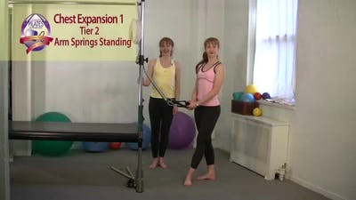 Instant Access to Chest Expansion 1 and 2 by Pilates on Fifth, powered by Intelivideo