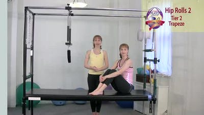 Instant Access to Hip Rolls 2 by Pilates on Fifth, powered by Intelivideo