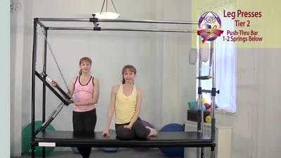 Instant Access to Leg Presses by Pilates on Fifth, powered by Intelivideo