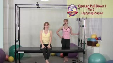 One Leg Pull Down 1 by Pilates on Fifth
