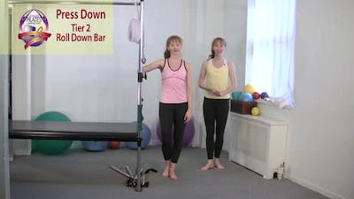 Instant Access to Press Down by Pilates on Fifth, powered by Intelivideo