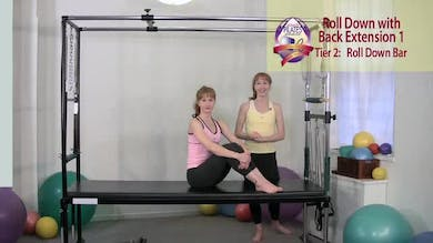 Roll Down with Back Extension 1 by Pilates on Fifth