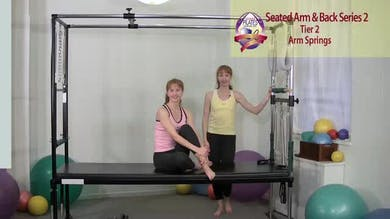 Seated Arm and Back Series 2 by Pilates on Fifth