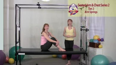 Seated Arm and Chest Series 2 by Pilates on Fifth