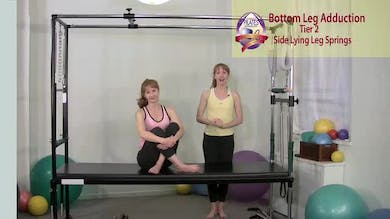 Side Lying Bottom Leg Adduction by Pilates on Fifth