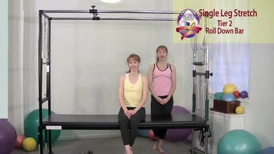 Single Leg Stretch by Pilates on Fifth
