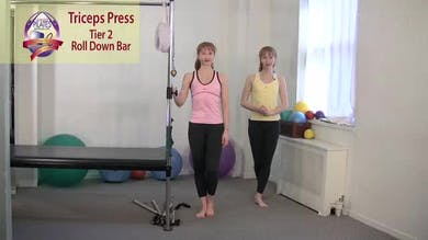 Triceps Press by Pilates on Fifth